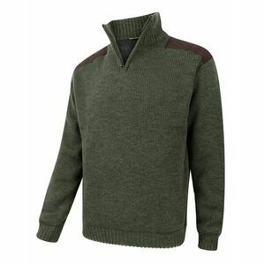 Hoggs of Fife Hebrides Zip Neck Windproof Pullover