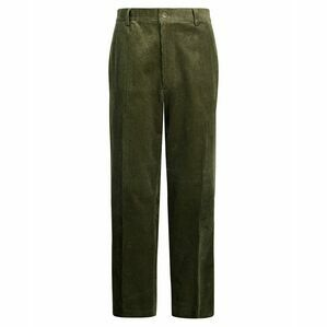 Hoggs of Fife Mid-weight Cord Trousers in Olive