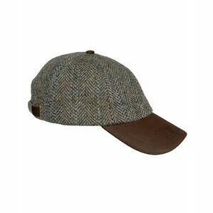Hoggs of Fife Harris Tweed Baseball Cap