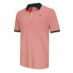 Hoggs of Fife Kinghorn Polo Shirt in Contrast Red