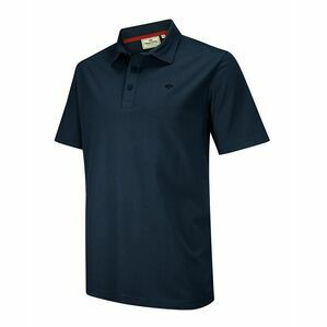 Hoggs of Fife Crail Jersey Polo Shirt in Navy