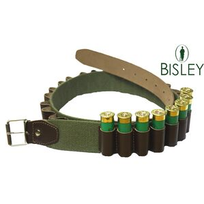 Bisley Cartridge Belt Leather on Webbing Loops