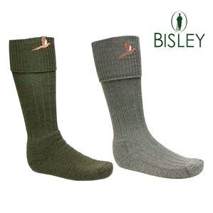 Bisley Embroidered Shooting Socks
