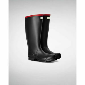 Hunter Argyll Wellington Boots in Black