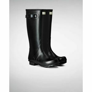 Hunter Norris Field Adjustable Wellington Boots in Black