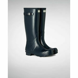 Hunter Norris Field Adjustable Wellington Boots in Navy