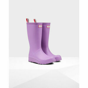 Hunter Original Play Tall Wellington Boots in Thistle