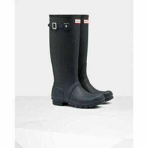Hunter Original Tall Wellington Boots in Navy