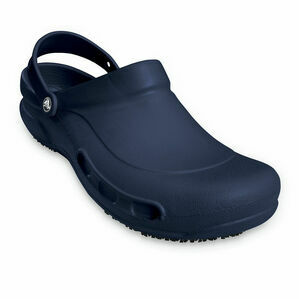 Crocs Bistro Work Clog in Navy