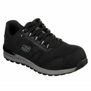 Skechers Bulklin Safety Shoe in Black