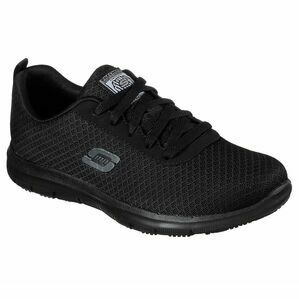 Skechers Genter - Bronaugh SR Work Shoe in Black