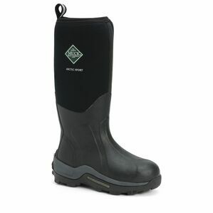 Muck Boots Arctic Sport Tall Wellington Boots in Black