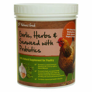 Natures Grub Garlic, Herbs & Seaweed - Tub - 300g