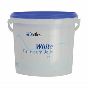 Battles White Petroleum Jelly - 4kg