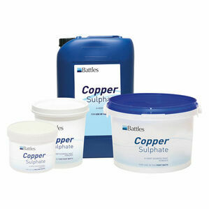 Battles Copper Sulphate