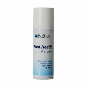 Battles Foot Health Aerosol - 150g