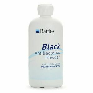 Battles Black Antibacterial Powder - 125g