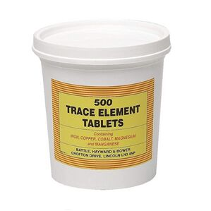 Battles Trace Element Tablets
