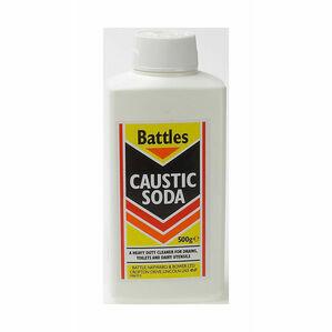 Battles Caustic Soda - 500g