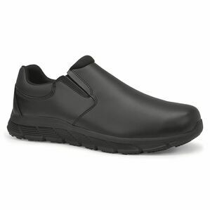 Cater II Men\'s Slip Resistant Work Shoe in Black