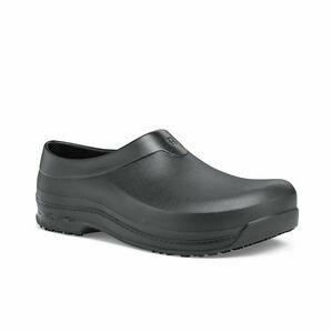 Radium Slip Resistant Work Clog in Black