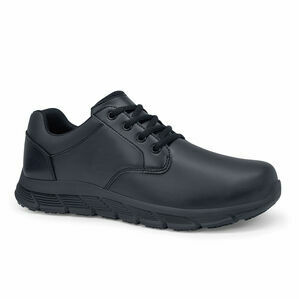 Saloon II Men\'s Slip Resistant Work Shoe in Black