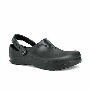 Zinc Slip Resistant Work Clog in Black