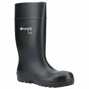 Amblers Safety AS1004 Metal Free Safety Wellington Boot (Black)