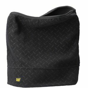 Caterpillar Neck Warmer in Diamond Plate Black