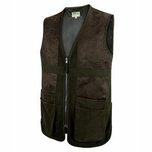 Hoggs Struther Waterproof Shooting Vest - Dark Green