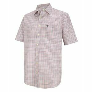 Hoggs Muirfield Short Sleeve Check Shirt - Brown/Green