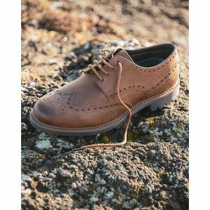 Hoggs Inverurie Brogue Shoes - Walnut