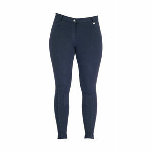 HyPERFORMANCE Melton Ladies Jodhpurs - Navy - 24''