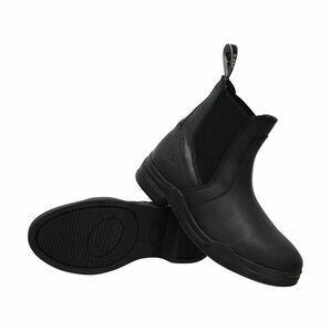 HyLAND Wax Leather Jodhpur Boot - Black