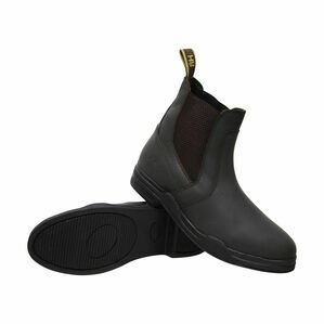 HyLAND Wax Leather Jodhpur Boot - Brown