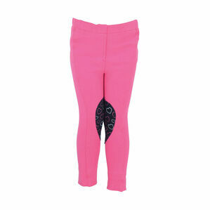 HyPERFORMANCE Heart Tots Jodhpurs - Hot Pink/Navy
