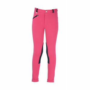 HyPERFORMANCE Belton Children\'s Jodhpurs - Pink/Navy