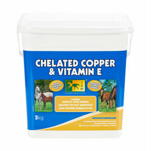 Chelated Copper & Vitamin E - 3kg