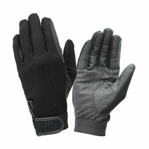 Hy5 Ultra Grip Riding Gloves - Black
