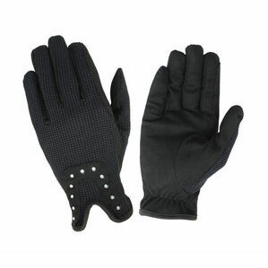 Hy5 Diamante Riding Gloves - Black