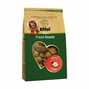 Effol Friend-Snacks - Apple Stars - 550g bag
