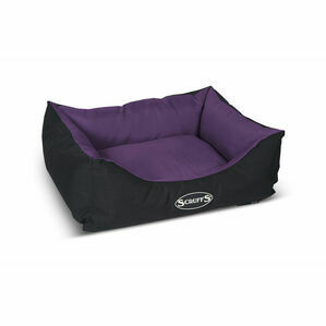 Scruffs Expedition Box Bed - Plum