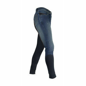 HyPERFORMANCE Rugby Denim Ladies Breeches - Denim/Navy