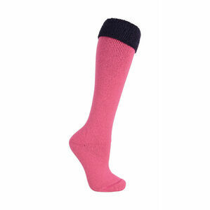 SockMine Two Tone Welly Socks (Pack of 3) - Pink/Navy