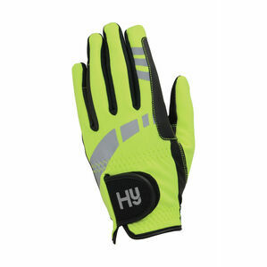 Hy5 Extreme Reflective Softshell Gloves - Reflective Yellow