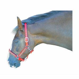 Hy Diamante Head Collar - Pink/Diamante