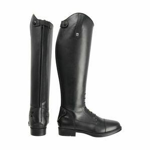 HyLAND Milan Long Leather Boot - Black