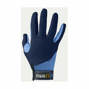Noble Outfitters Perfect Fit Cool Mesh Glove - Navy/Periwinkle - 8