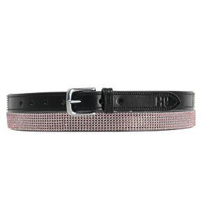 Hy Sparkle Leather Belt - Pink