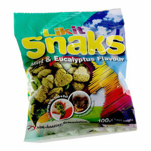 Likit Snaks (Box of 20) - Mint & Eucalyptus - 100g